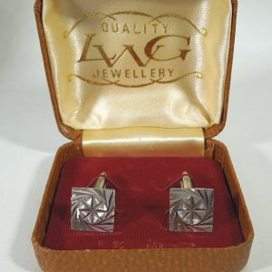 Vintage silver cufflinks